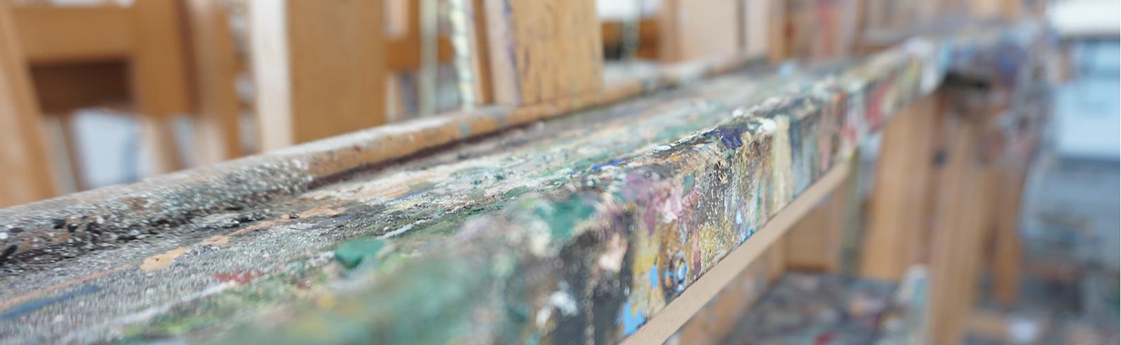 Espacios del Departamento de Pintura