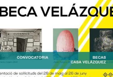 Becas Velázquez 2020-21
